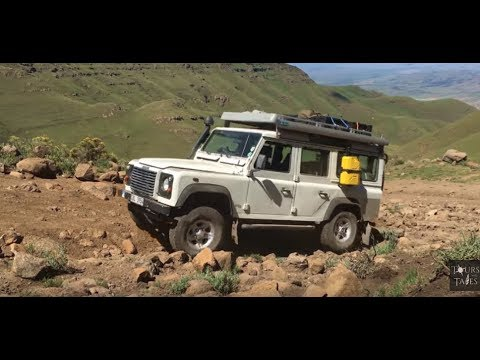 LESOTHO at its finest by Land Rover Defender