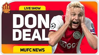 Van De Beek Confirms United Switch! Man Utd Transfer News
