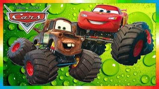 Repeat youtube video CARS - Mater National Championship - Hook International - Monstertruck - The Lightning McQueen