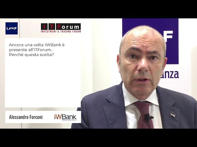 Alessandro Forconi (IWBank) - ITForum2019