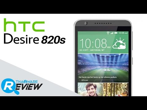 รีวิวมือถือ HTC Desire 820s สมาร์ทโฟน 2 ซิม กล้องหน้า 8 ล้านพิกเซล หน้าจอ 5.5 นิ้ว แบบ HD