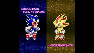 Random Flash 1: Sonic vs Shadow