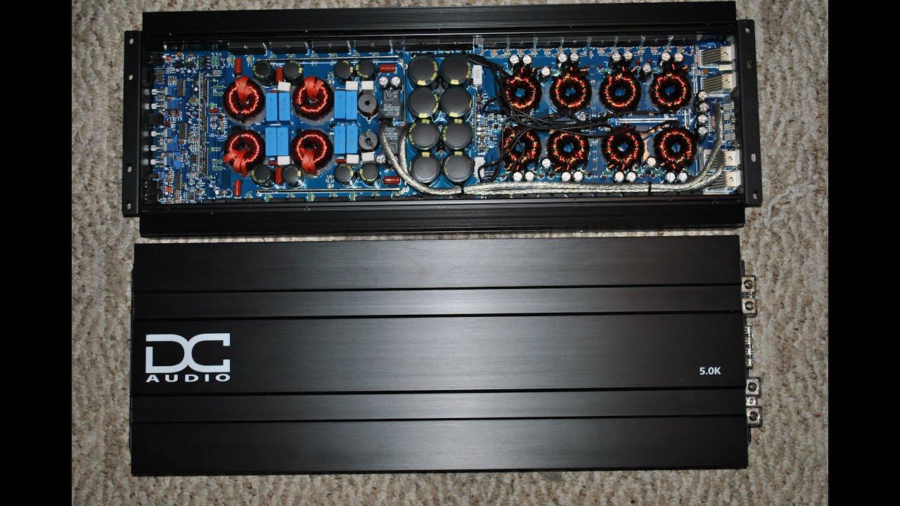 2 DC Audio 5k 10000watts RMS