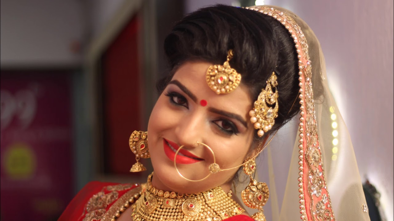 punjabi bridal makeup # best bridal makeup artist in punjab