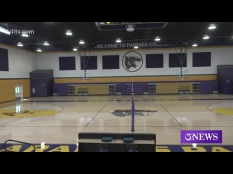 Aransas Pass High School gym finally rebuilt two years after Harvey