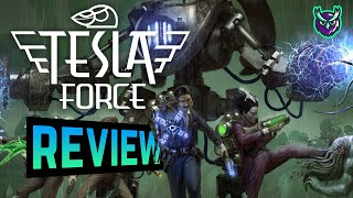 Tesla Force Nintendo Switch Review-10 Tons Twin Stick Shooter Mayhem! (Video Game Video Review)