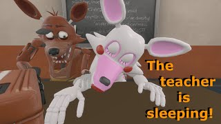 - FNAF SFM Sleeping Teacher