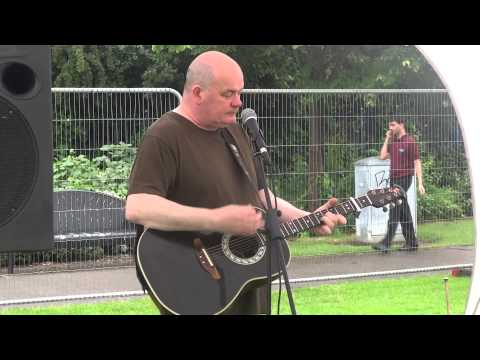 Kevin Hewick at Riverside Festival 7/6/14