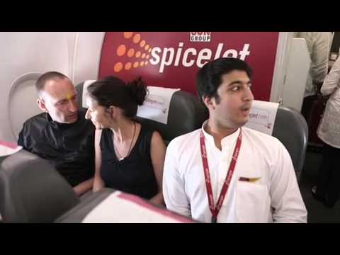 Holi at SpiceJet