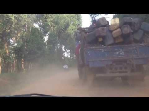 CARRETERAS EN EL ESTE DEL CONGO