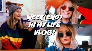 NEW JOB, GOING HOME & GETTING A HAIRCUT *week in my life VLOG* 2018