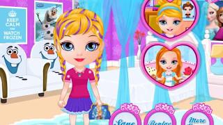 Маленькая Барби и ее новая прическа! Игра для девочек!