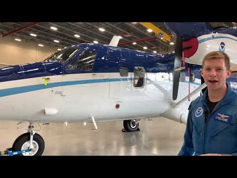 National Oceanic and Atmospheric Administration (NOAA) - Tour of NOAA's Aircraft Operations Center