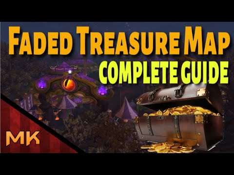 Complete Guide: Faded Treasure Map WoW - Darkmoon Faire Quest