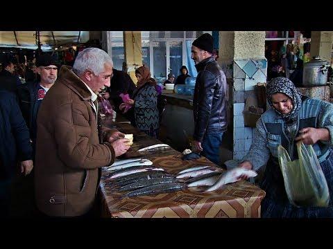 Lənkəran bazarında balıqların qiymətləri ucuzlaşdı