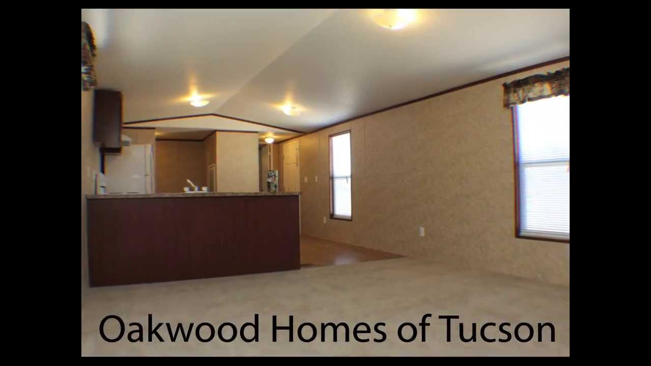 Oakwood homes of tucson 2 bed 2 bath 14x60 singlewide for 1 bed 1 bath mobile homes