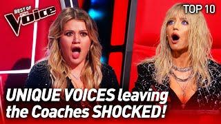 Download The most UNIQUE VOICES on The Voice #2 | Top 10