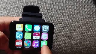 LEMFO LEM T 2.86 Inch HD Screen 4G-LTE Watch Phone 5MP Camera 2700MAH GPS Wifi Smart Watch-Review