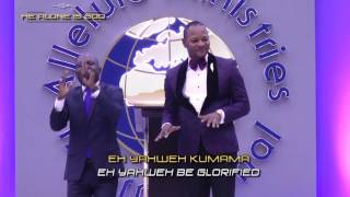 Eh Yahweh Kumama by Pastor Alph Lukau and Ps Justino at Alleluia Ministries Int