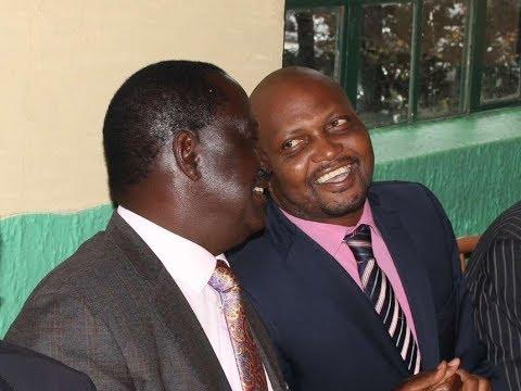 Moses Kuria at it again, slams Nasa's flag-bearer Raila Odinga