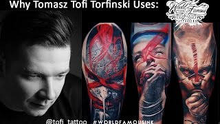 Why Tofi Tattoo Uses World Famous Ink(Tomasz TOFI Torfinski is our newest Pro-Team Member. See why this great artist uses World Famous Ink on his #humancanvas #watchthetransformation., 2015-09-16T14:05:57.000Z)