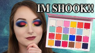 BEST RAINBOW PALETTE? JAWBREAKER PALETTE EYESHADOW TUTORIAL | JEFFREE STAR COSMETICS