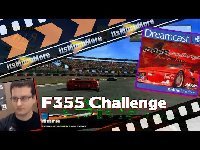 F355 Challenge Passione Rossa - Sega Dreamcast : Play Through [Gameplay]
