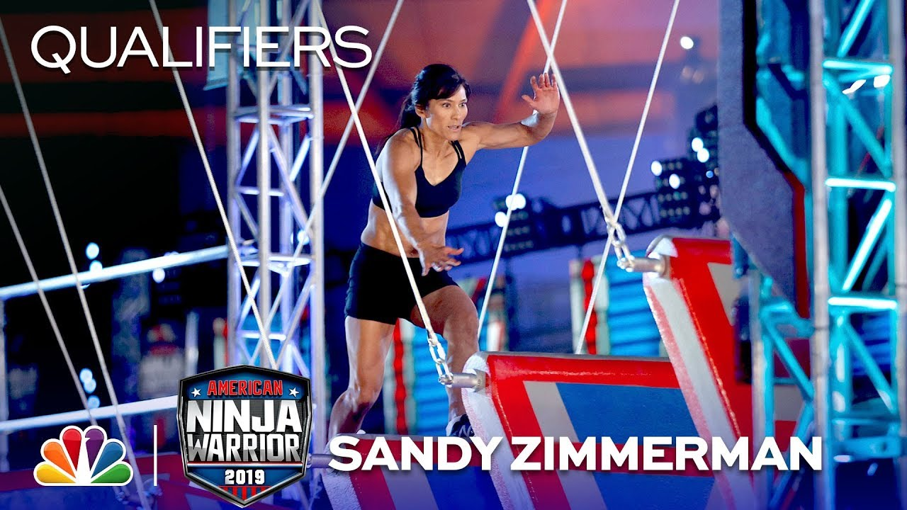 02e7617f9024 'American Ninja Warrior' course completed by first mom ever