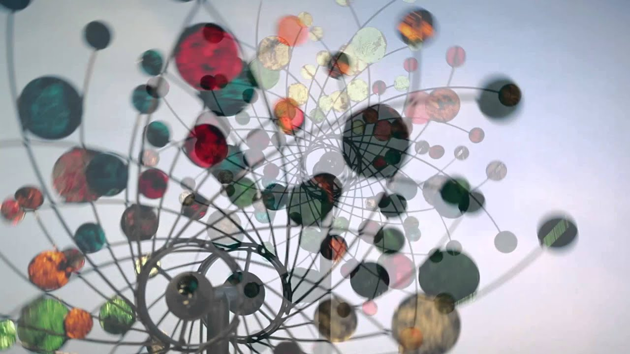 Confetti Kinetic Wind Spinner SKU# 53244 Plow & Hearth - YouTube