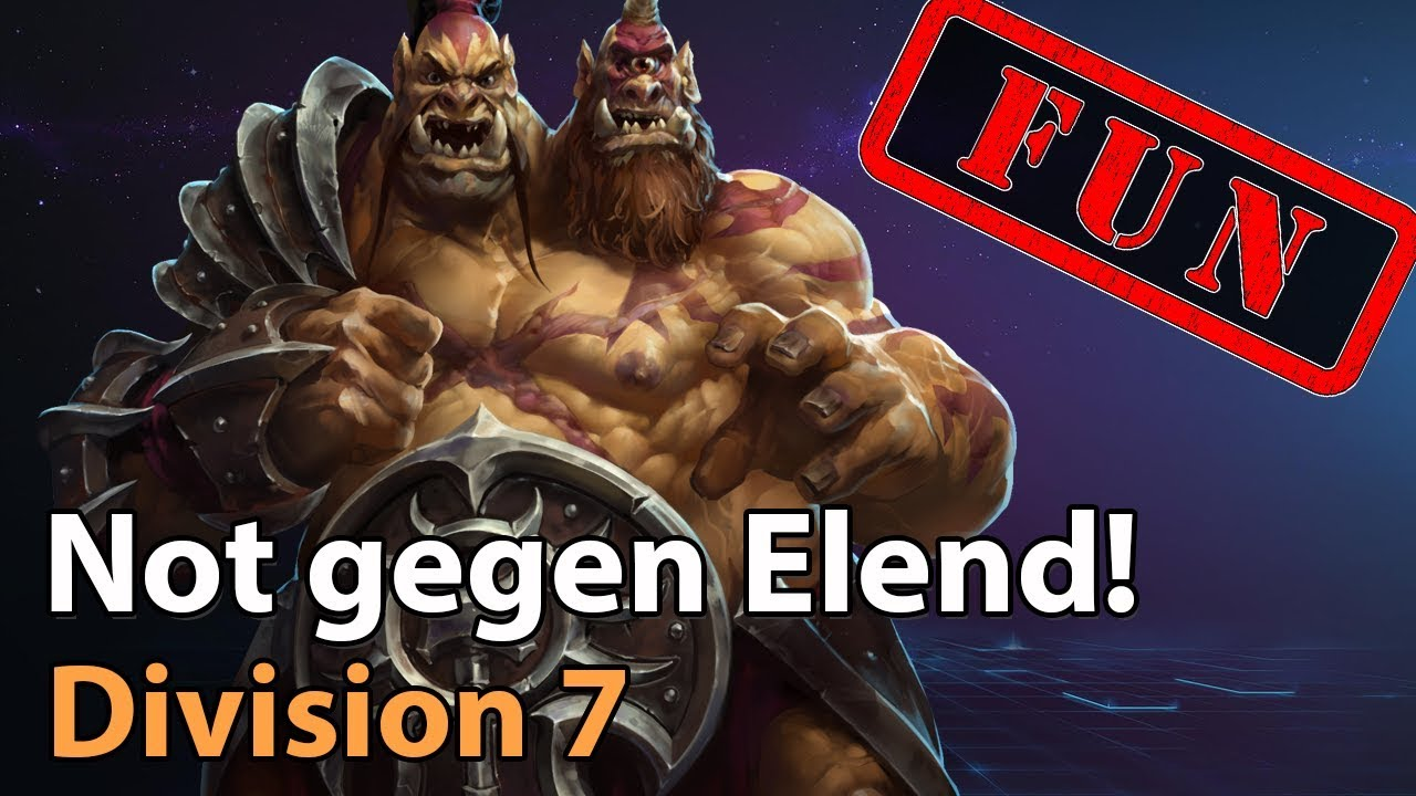 ► Division 7 - Not gegen Elend! - Heroes of the Storm Amateur Fun