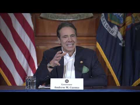 Gov. Andrew Cuomo's news briefing on Tuesday, March 17