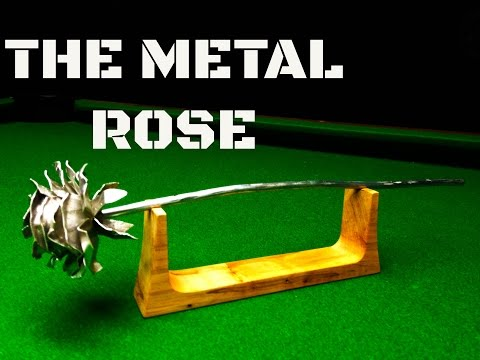 A DIY Project, The metal rose!