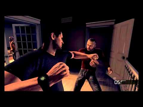 """Splinter Cell Conviction - Ladri in casa """"FlashBack""""  ITA Clip"""