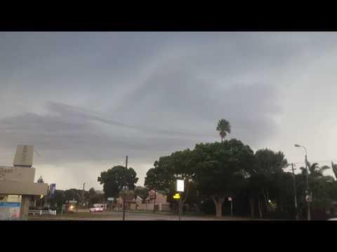 Lightening Storm in Port Elizabeth. Hectic. Cool.