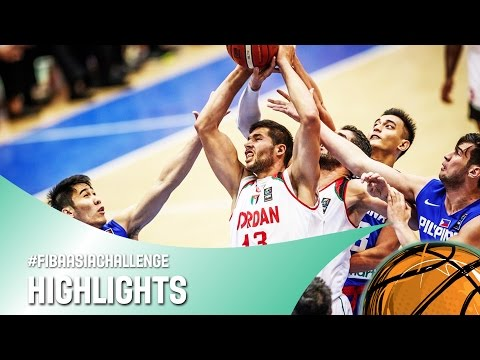 Jordan v Philippines - Highlights - FIBA Asia Challenge 2016