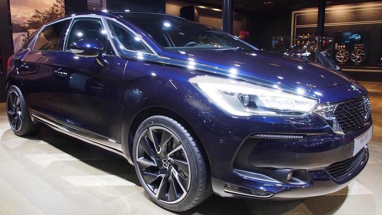 2016 Citroen Ds5 Bluehdi 180 Stop Start Eat6 Exterior And Interior Walkaround