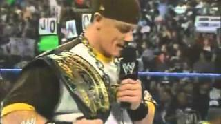 4 7 2005 WWE Smackdown! John Cena New Champion
