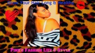 How I Keep My Hair Long & Healthy The Journey Part1 Thumbnail