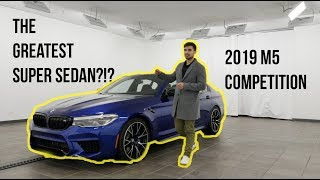 THE 2019 BMW M5 COMPETITION OVERVIEW **THE GREATEST GERMAN SUPER SEDAN?**