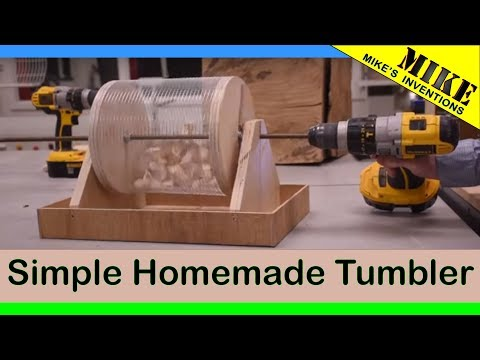 Simple Homemade Tumbler - Mikes Inventions