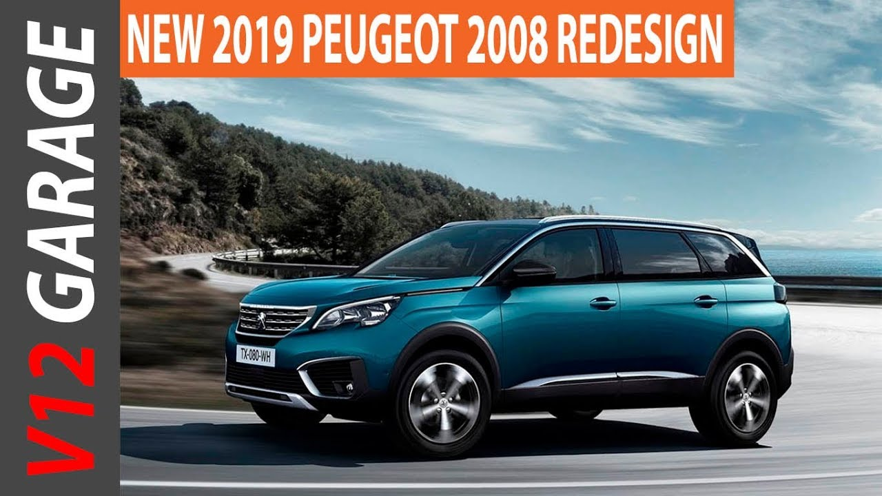 Peugeot 2008 2019 >> 2019 Peugeot 2008 Redesign Interior Exterior Changes Youtube