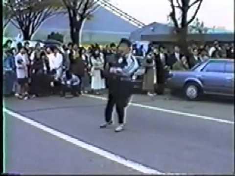 Toshi Hirosawa 80's F.A.D 原宿歩行者天国パフォーマンス