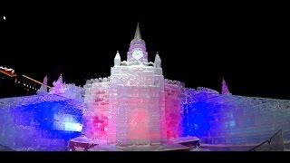 Новогодний Парк Победы в Москве! Ледяные скульптуры!