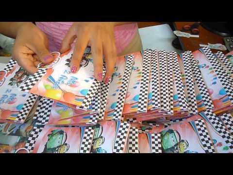 Invitaciones Pop Up De Cumpleaños Cars Tarjeti Diseños