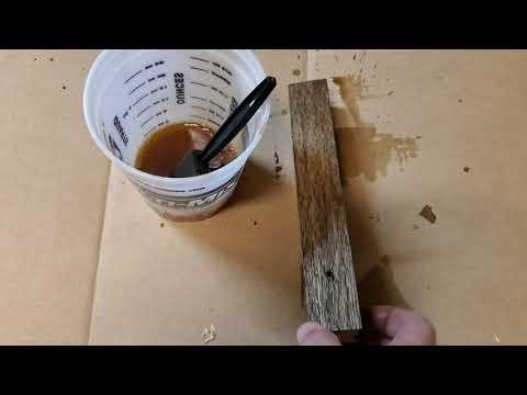 Ebonizing Wood
