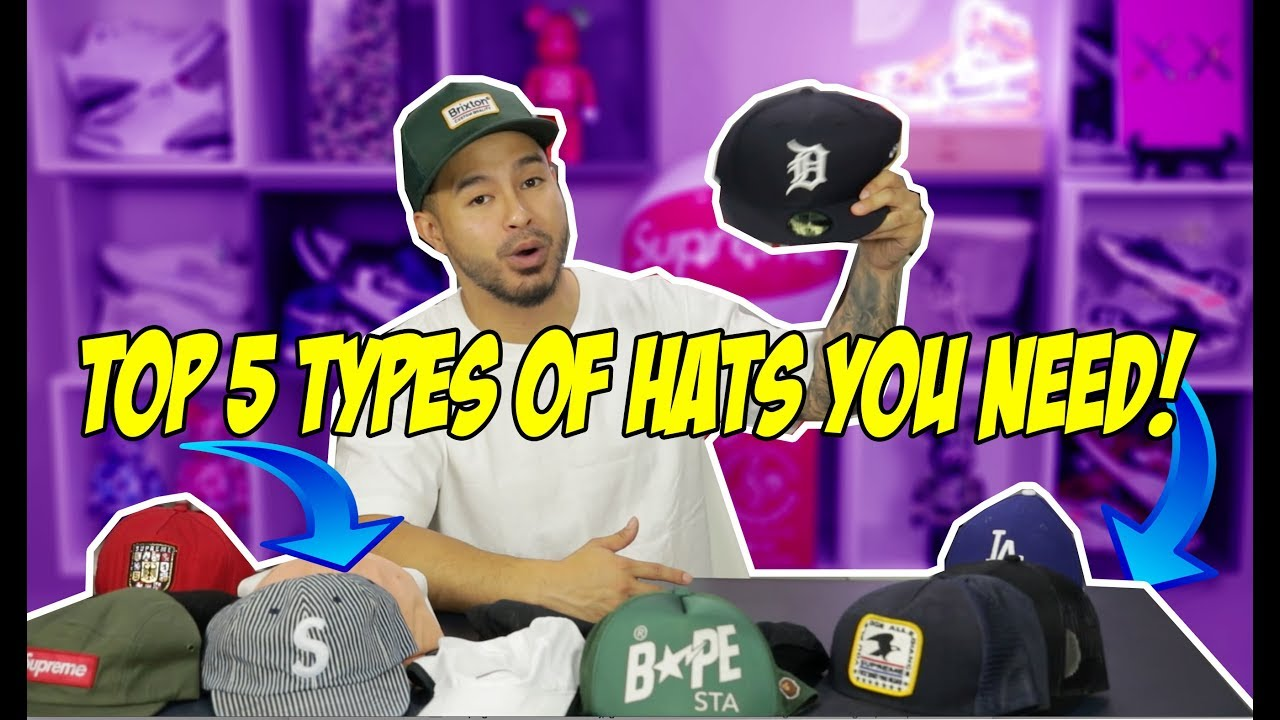 Download TOP 5 TYPES OF HATS EVERY MAN SHOULD OWN!