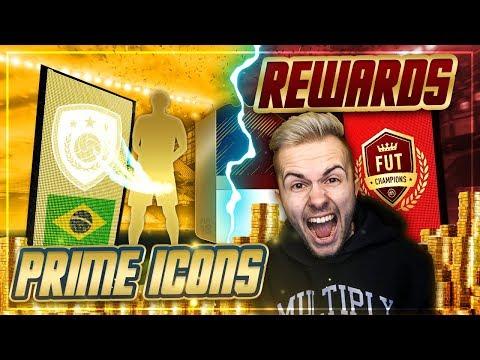 FIFA 18: ELITE 1 REWARDS Pack Opening + GARANTIERTE ICON PACKS 😱