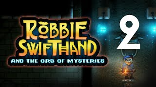 Robbie Swifthand and the Orb of Mysteries — Platformówka 2d - Na żywo