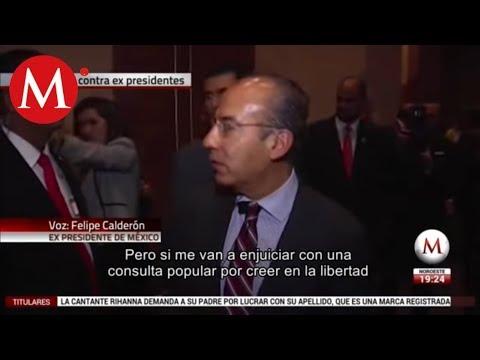 Jamás me clavé un centavo ni robé una gota de combustible: Calderón
