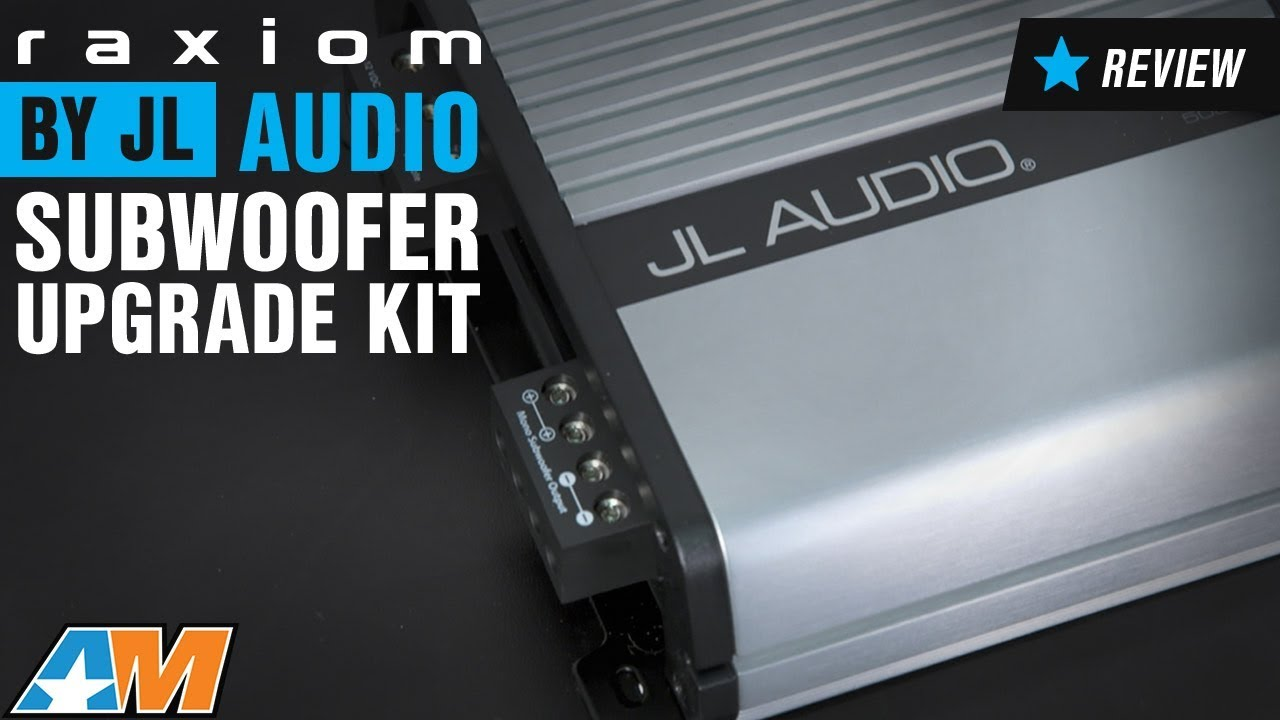 2015-2017 Mustang Raxiom by JL Audio Subwoofer Upgrade Kit Review ...